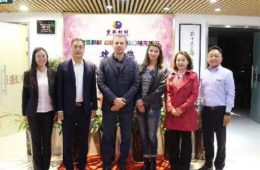 Ukrainian Customers Visiting Rongsheng Group