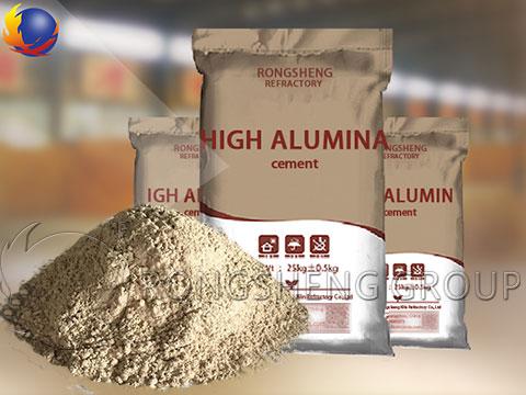 High Alumina Refractory Cement