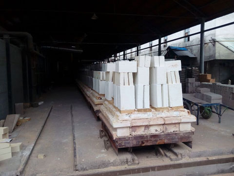 Mullite Bricks Production Line - Rongsheng Refractory Factory