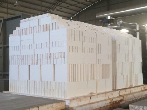 Mullite Refractory Bricks in Rongsheng Factory