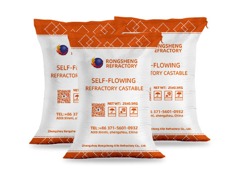 RS High-Alumina Self-Flowing Castables for Sale